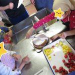 ケーキ造り