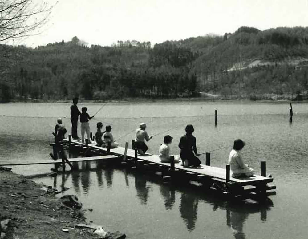 須川湖釣り